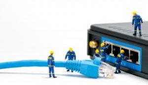 Netzwerk-Infrastruktur und WLAN-Technik von cc Computer Studio Dortmund