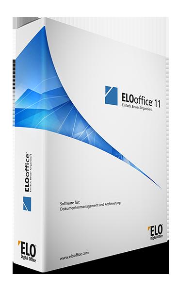 Verpackung ELOoffice Dokumenten-Management DMS